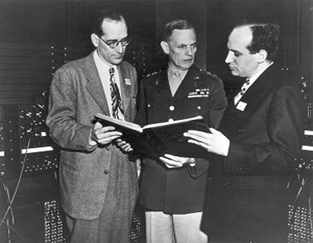 J. Presper Eckert & John W. Mauchly